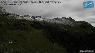 Livecam Ankogel Skigebiet Richtung Norden