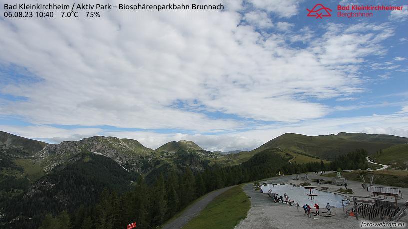 WEBkamera Bad Kleinkirchheim - Brunnach