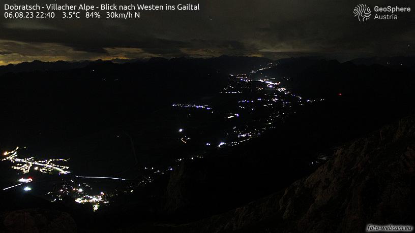 WEBkamera Dobratsch - Gailtal