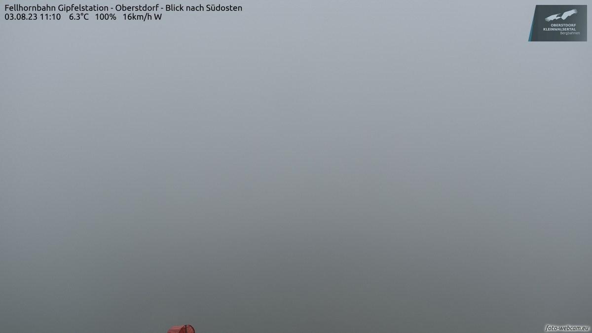 Oberstdorf Fellhorn Gipfelstat
