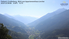 Webcam Flattach - Blick nach Osten