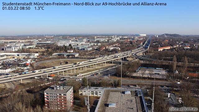 Webcam München Freimann