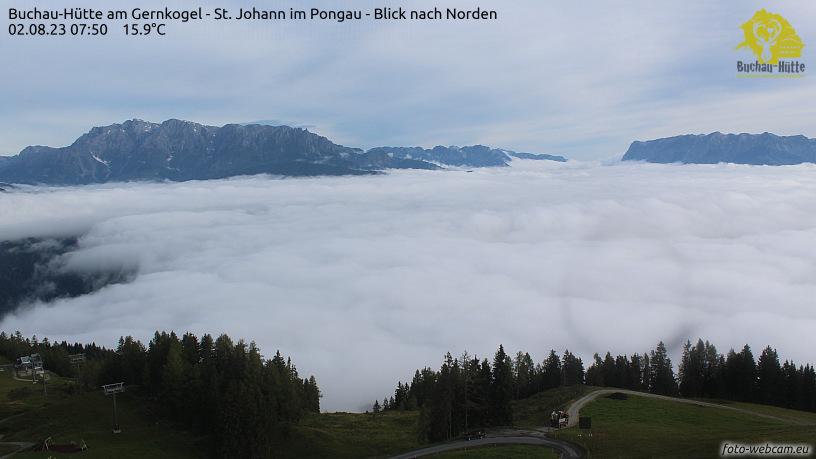 WEBkamera St. Johann im Pongau - Buchau Hütte