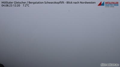 Livecam Mölltaler Gletscher - Schwarzkopf