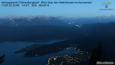 Foto-Webcam Herzogstand Süd
