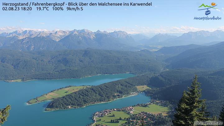 Webcam Walchensee