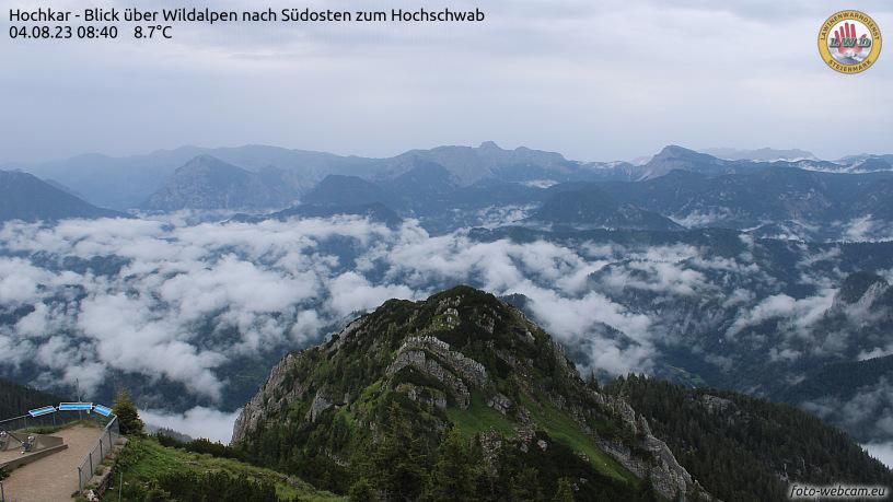 WEBkamera Hochkar - pohled k jihovýchodu