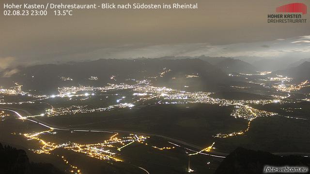 Blick in das Rheintal