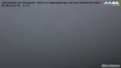 Königsee - Jenner - Jenner - pohled na jih