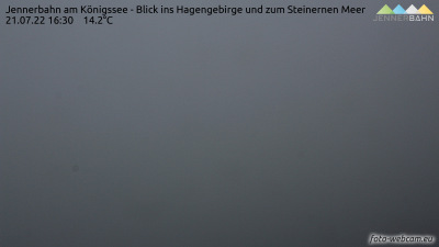 Berchtesgadener Land - Jenner - pohled na jih