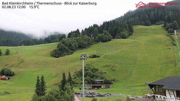 Webcam Bad Kleinkirchheim Bachlift und NockResort