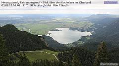 Webcam Kochelsee Herzogstand