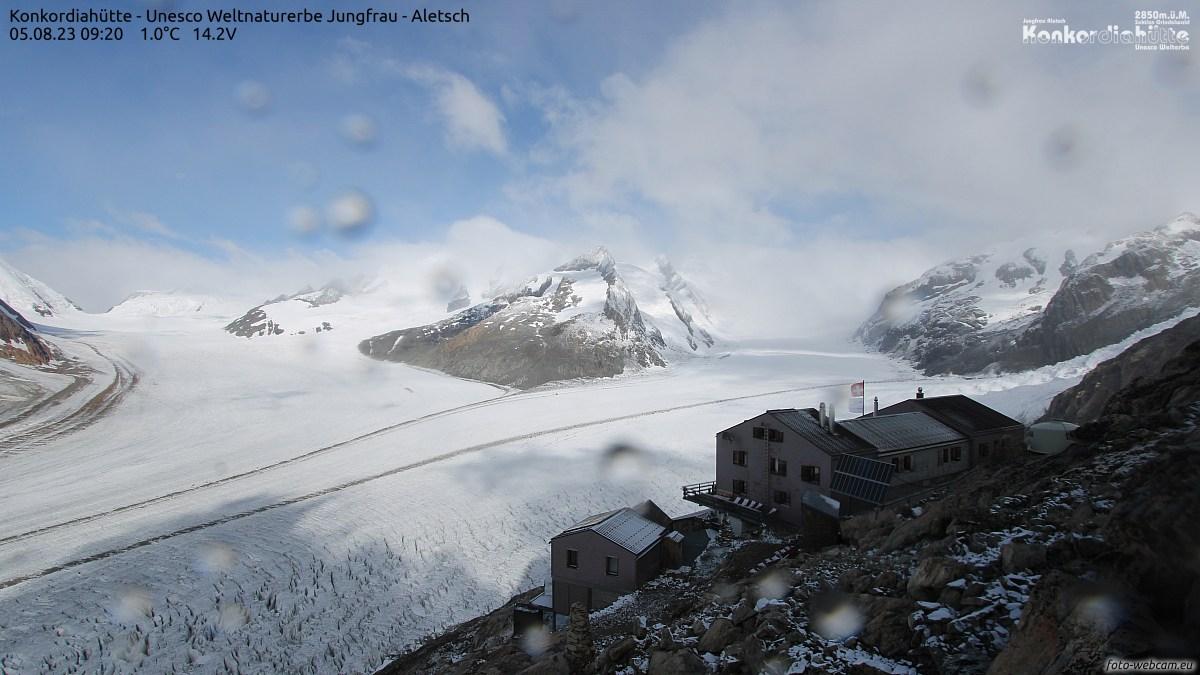 Fieschertal Konkordiahütte