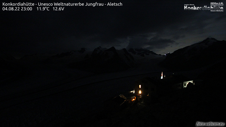 Webcam Konkordia-Hütte