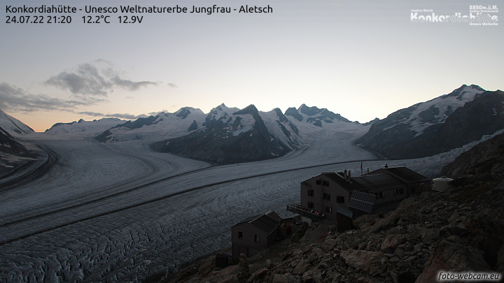 Webcam Konkordiahütte