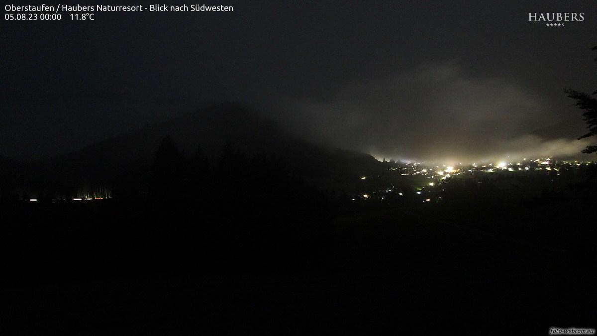 Der Blick zeigt nach Südosten von links nach rechts betrachtet: Manzengrat - Falkenstein - Zugspitzareal - Vilser Kegel - Roter Stein - Roßberg - Breitenberg.