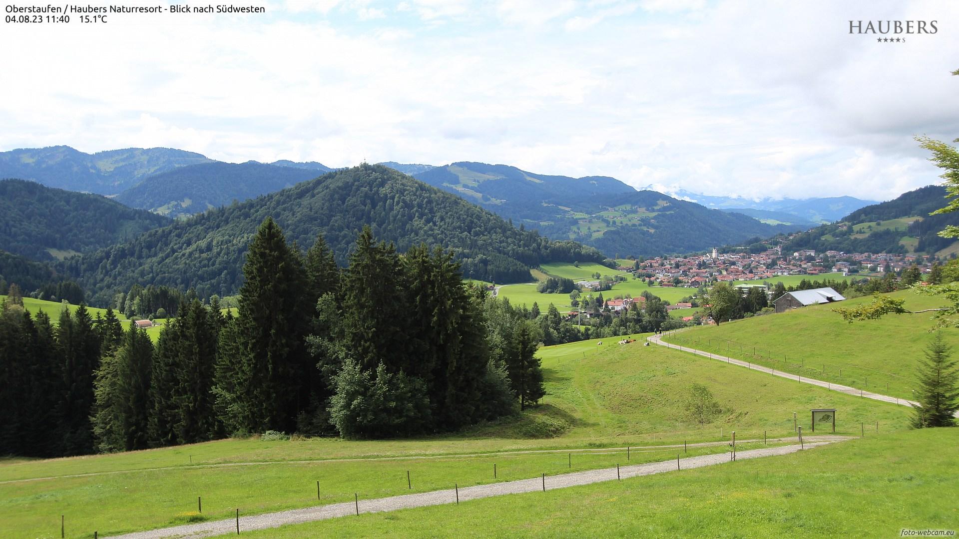 Webcam Oberstaufen - Haubers Alpenresort