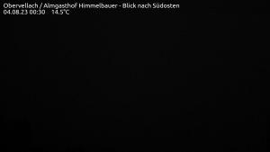 Live Webcam Obervellach/Almgasthaus Himmelbauer - Blick nach Südosten