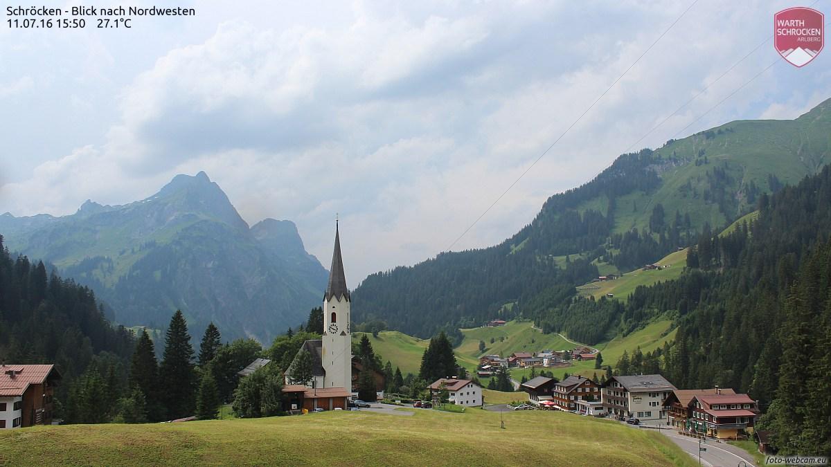 Vorarlberg - Bregenzerwald - Schröcken - Dorfansicht
