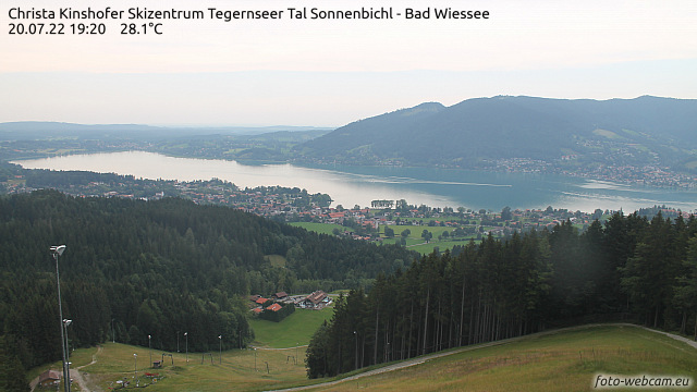 Panorama Webcam Tegernsee