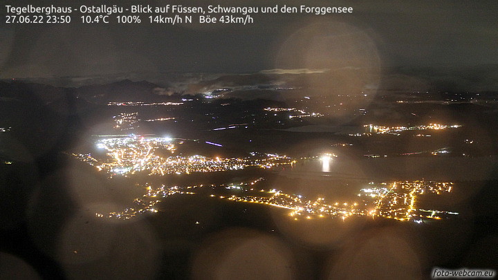 Webcam vom Tegelberghaus