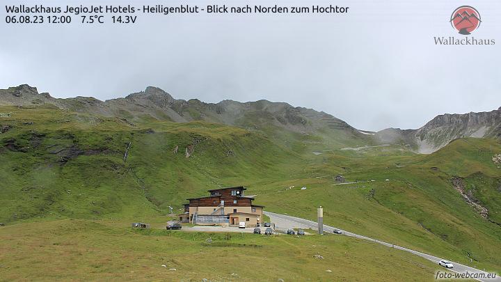 Heiligenblut, Berggasthof Wallackhaus - Blick nach Norden zum Hochtor