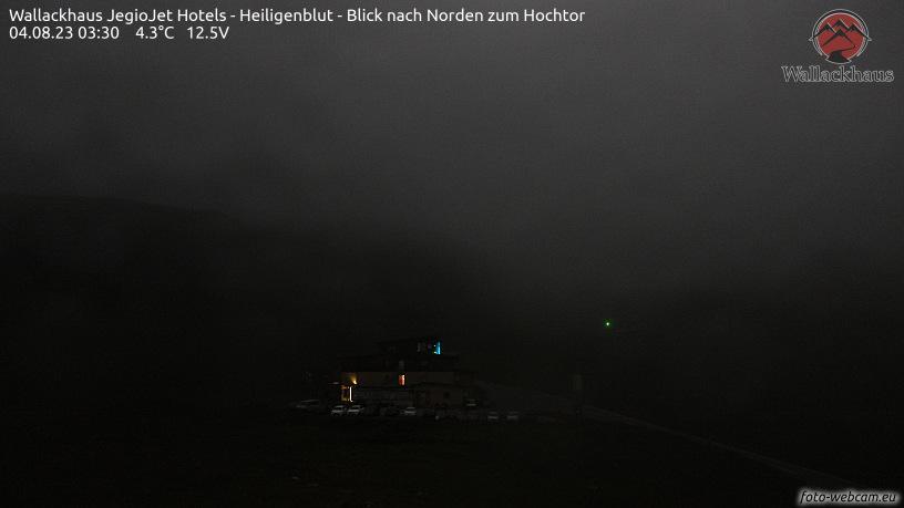 WEBkamera Grossglockner Hochalpenstrasse - Wallackhaus (směr Hochtor)