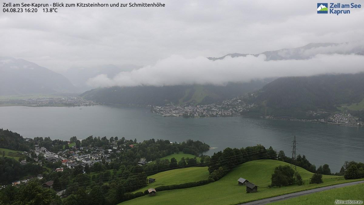 Webcams de Zell am See - Kaprun (Austria)