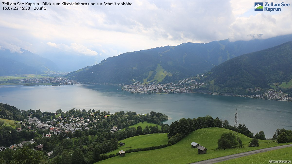 Webcams de Zell am See - Kaprun