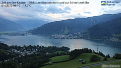 Webcam Zell am See-Kaprun, Gletscher, Berg & See