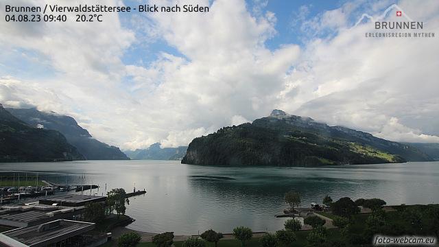 Webcam am Brunnen - Vierwaldstättersee - Blick nach Süden