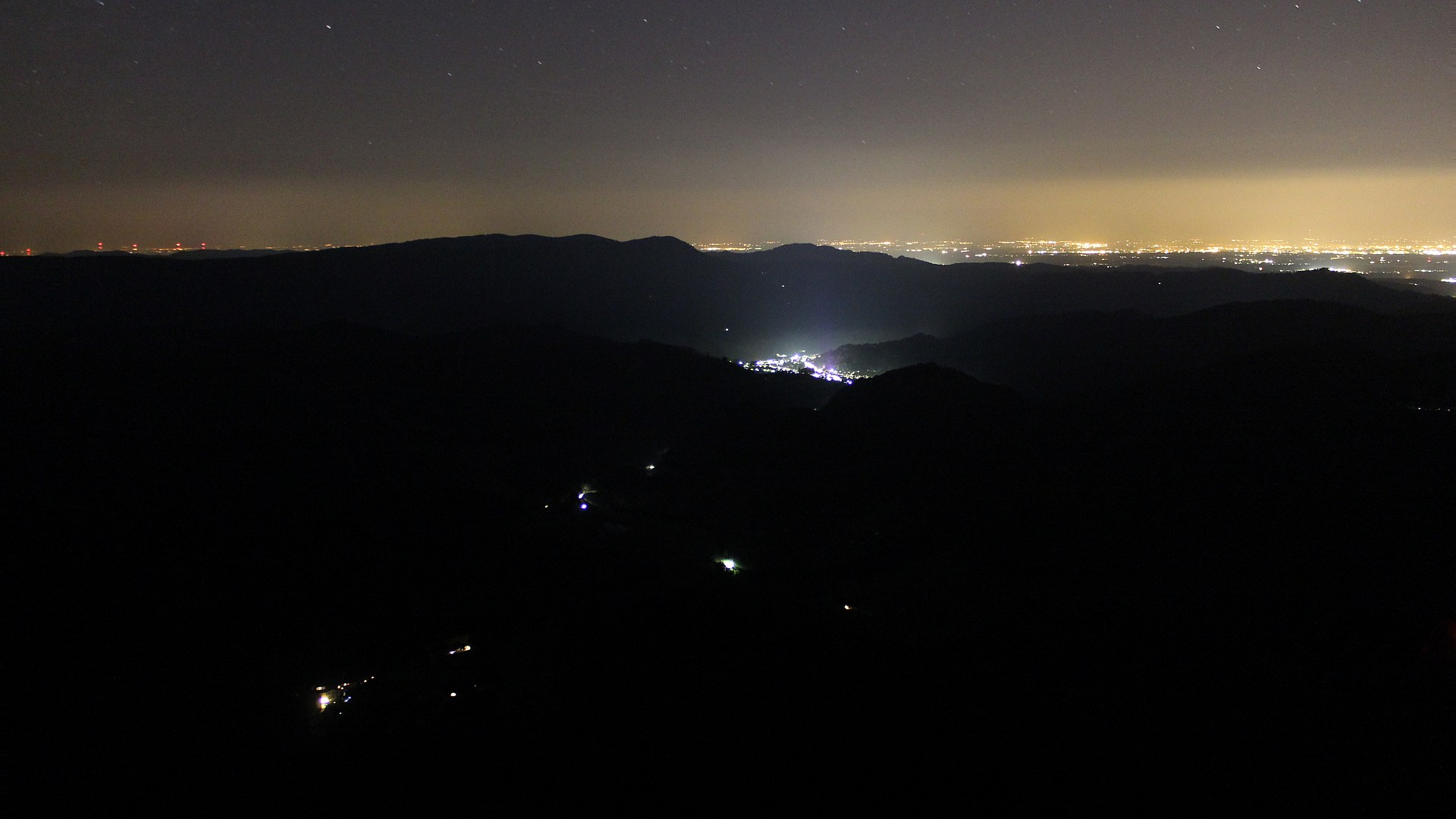 Aufnahme: Buchkopfturm vom 26.08.2019 01:30