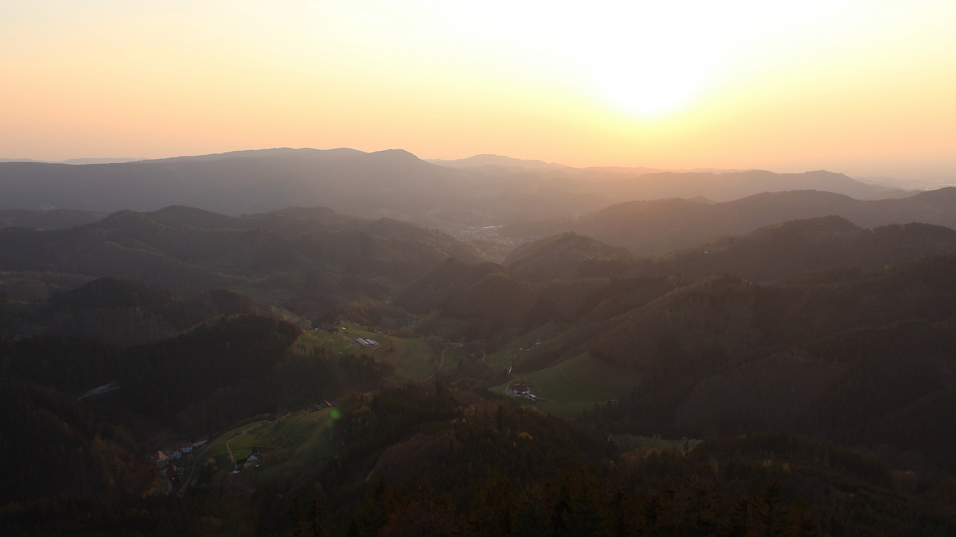 Aufnahme: Buchkopfturm vom 09.04.2020 19:40