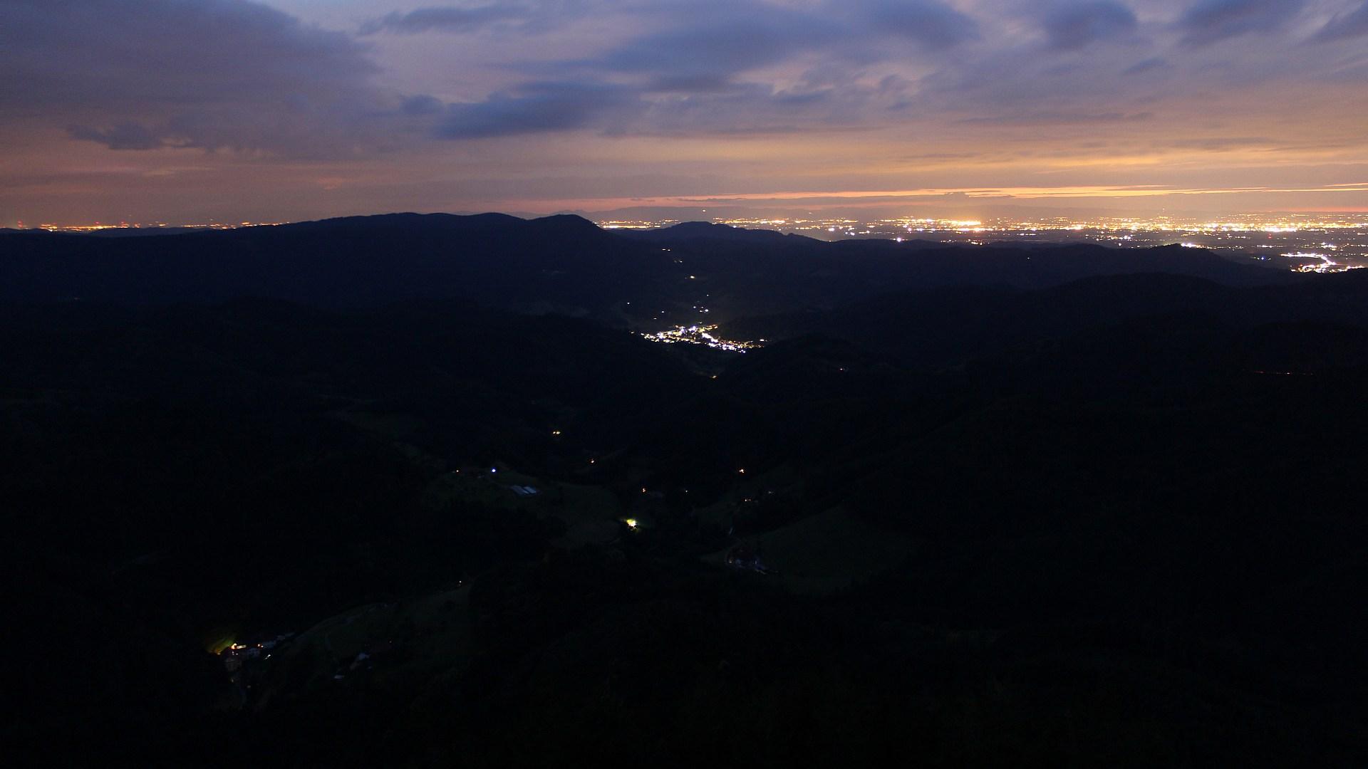 Aufnahme: Buchkopfturm vom 02.07.2020 22:50
