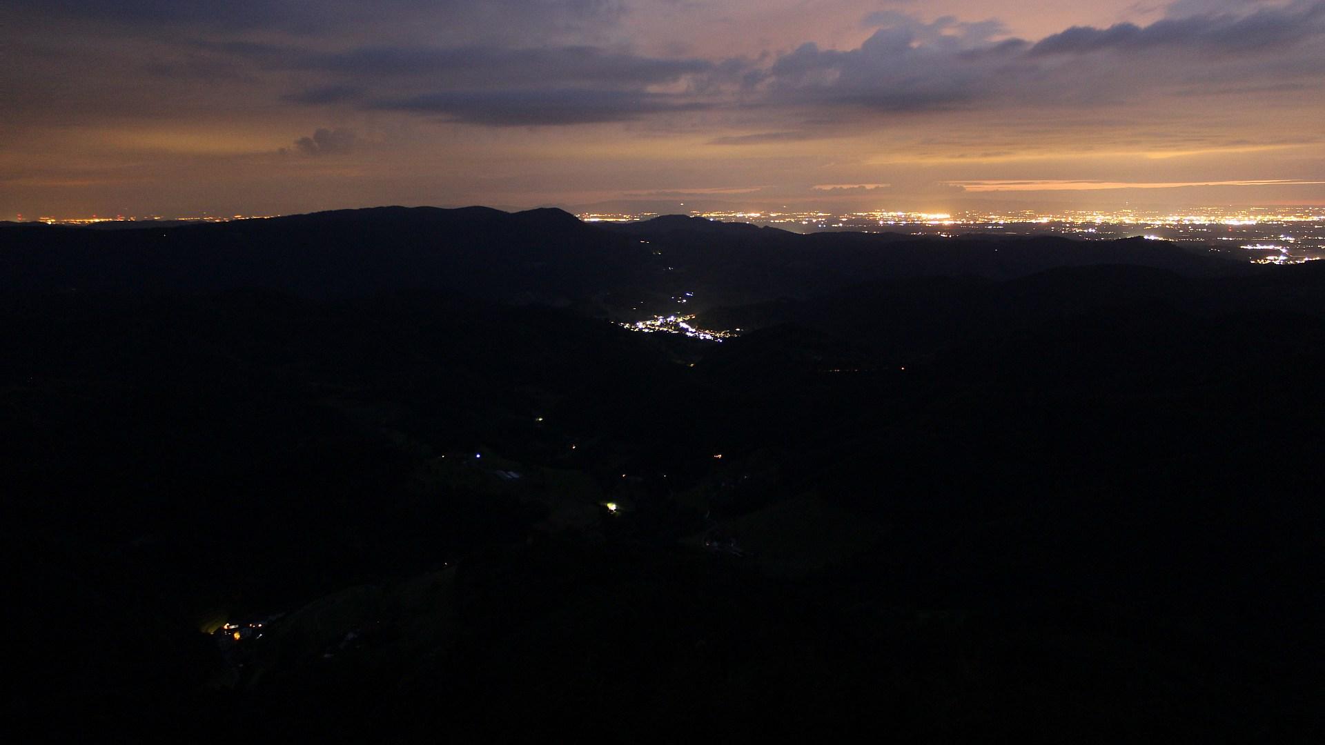 Aufnahme: Buchkopfturm vom 02.07.2020 23:00