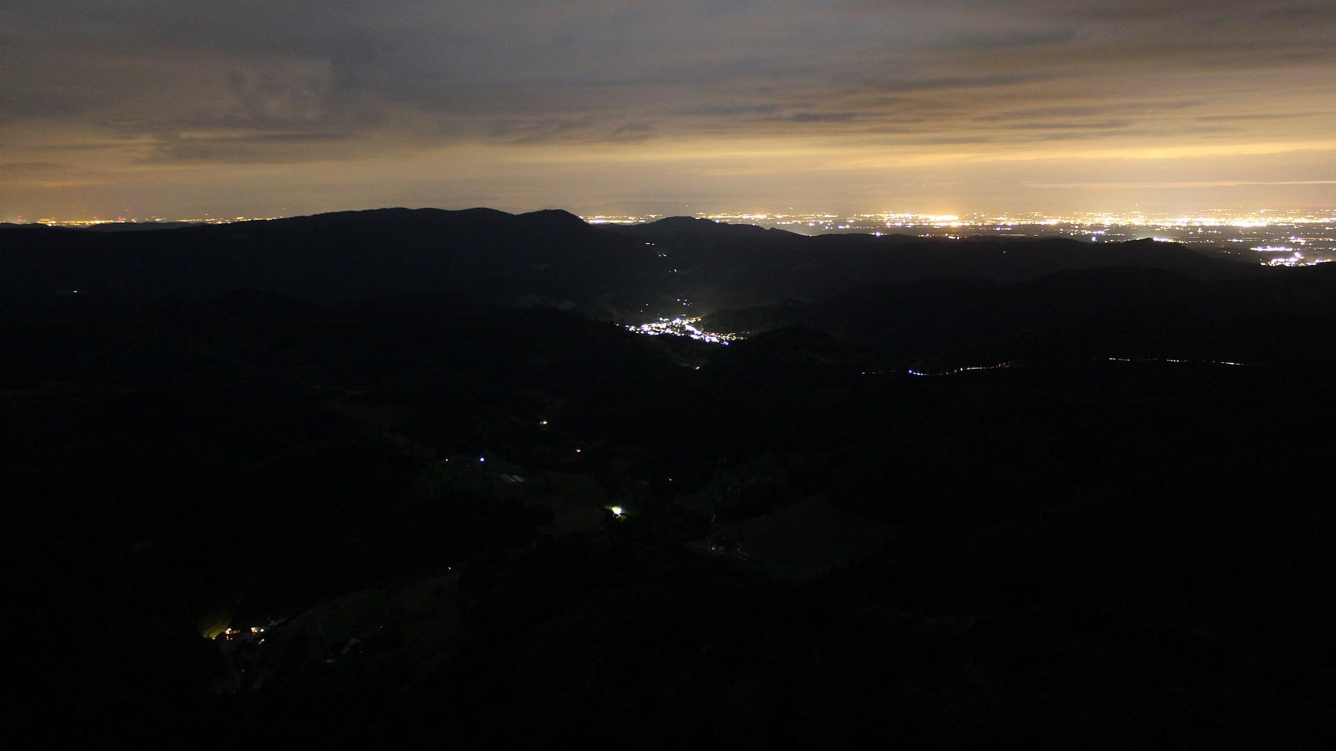 Aufnahme: Buchkopfturm vom 02.07.2020 23:20