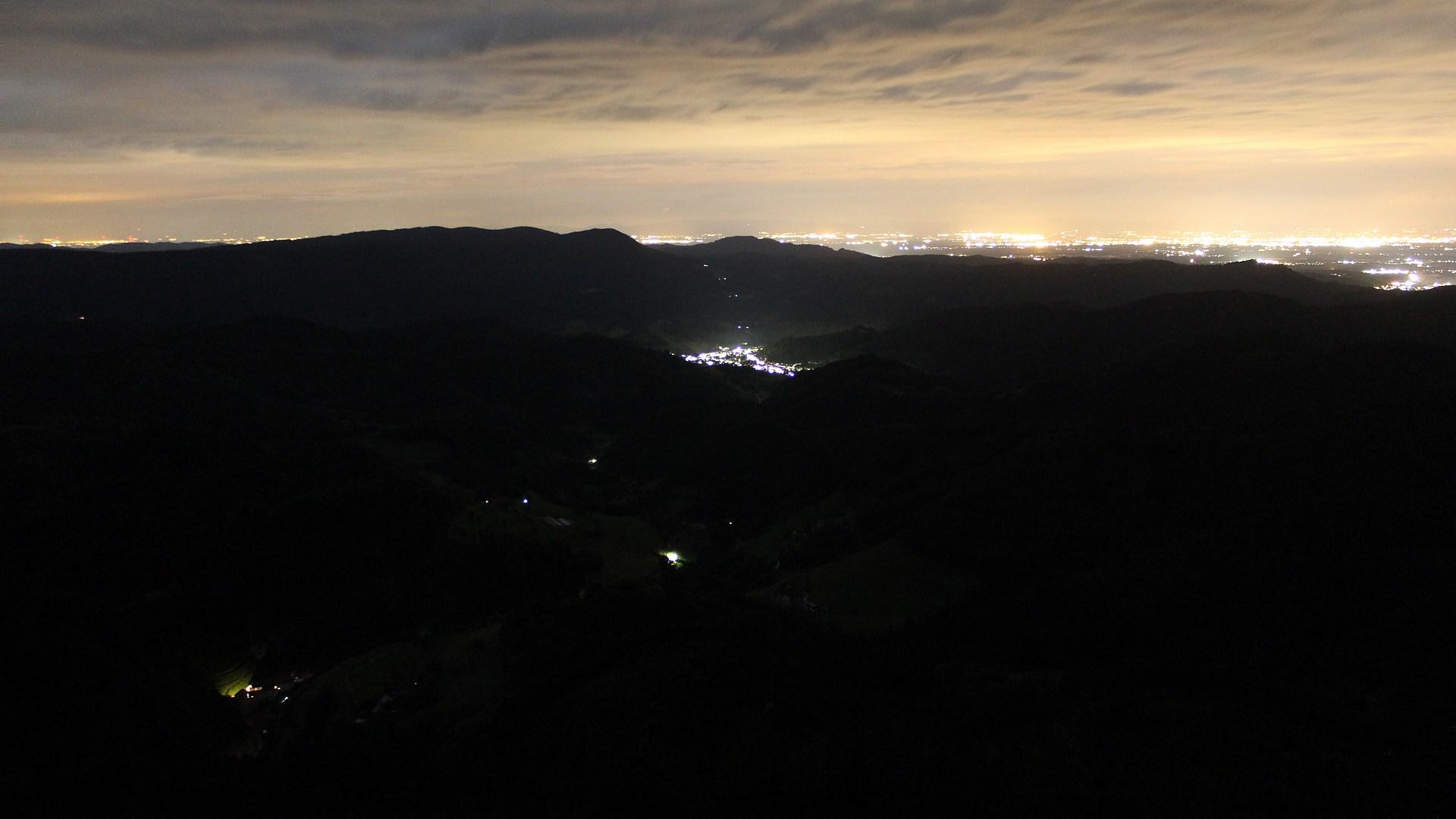 Aufnahme: Buchkopfturm vom 03.07.2020 00:30