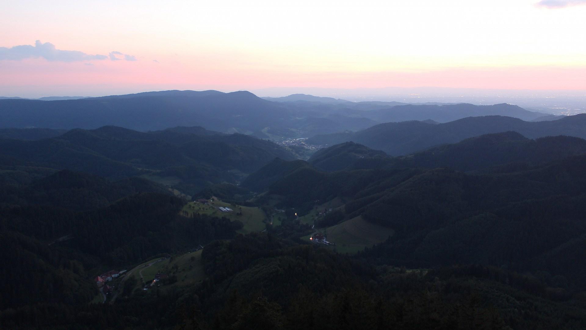 Aufnahme: Buchkopfturm vom 04.08.2020 21:30
