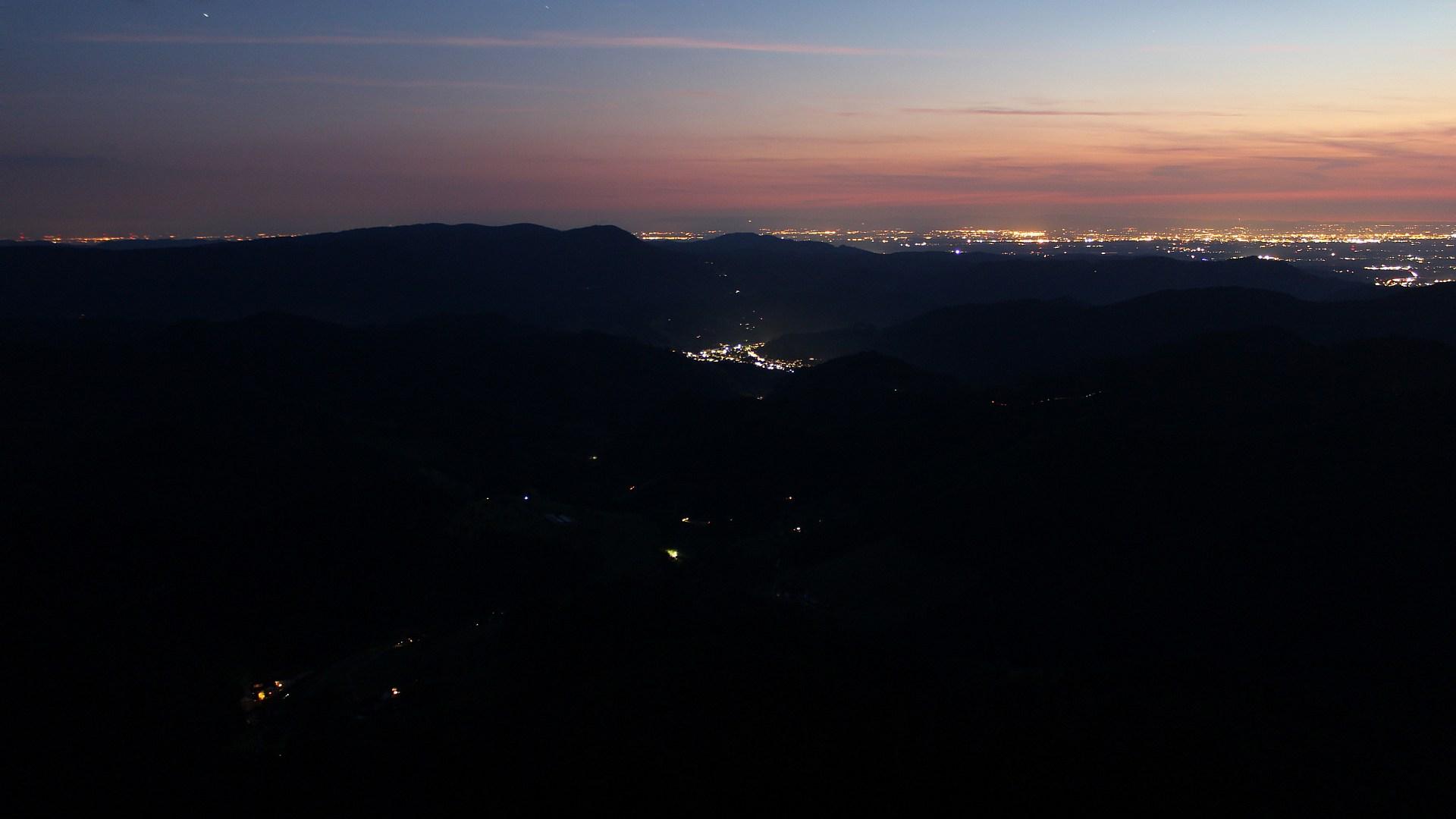 Aufnahme: Buchkopfturm vom 04.08.2020 22:10