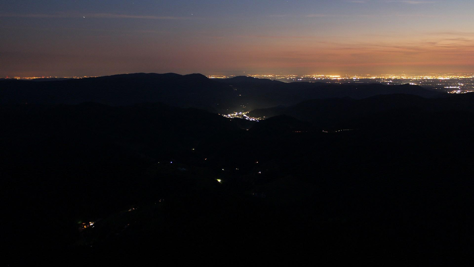 Aufnahme: Buchkopfturm vom 04.08.2020 22:20