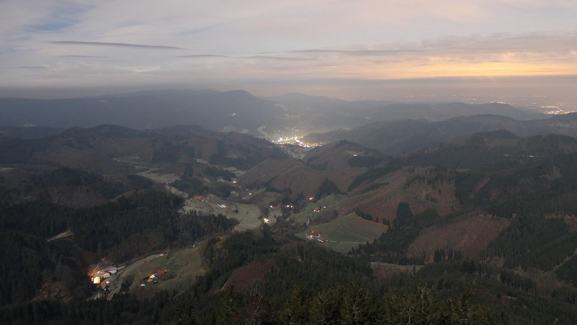 Aufnahme: Buchkopfturm vom 30.11.2020 21:30