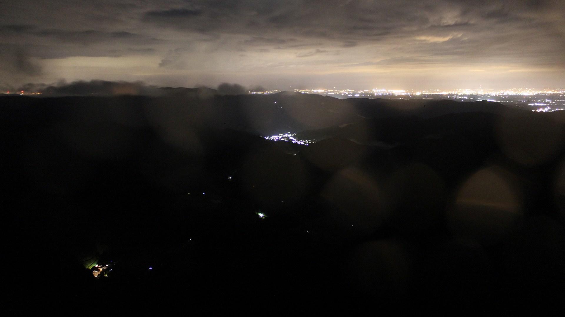 Aufnahme: Buchkopfturm vom 02.08.2021 00:30