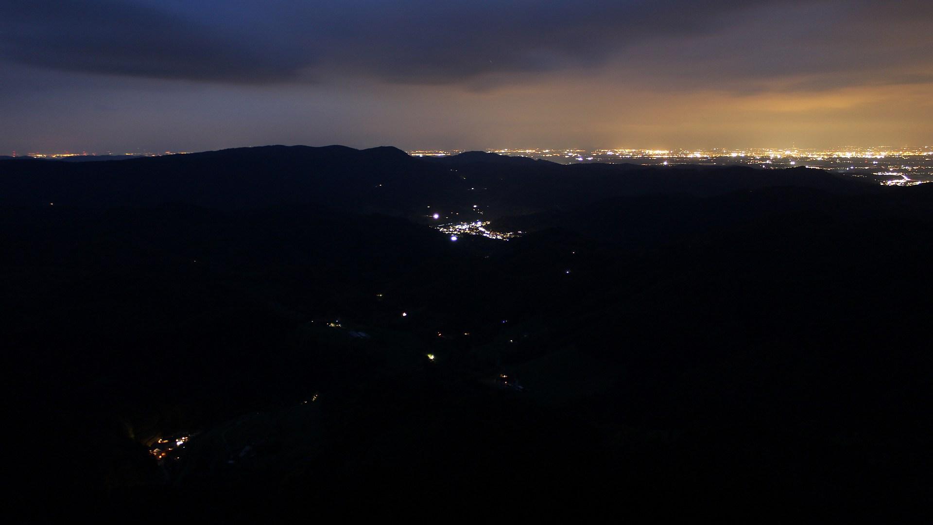 Aufnahme: Buchkopfturm vom 20.10.2021 19:20