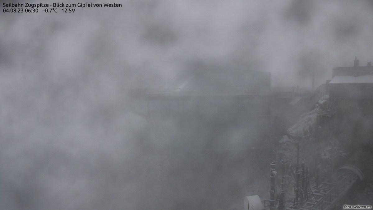 Zugspitze - Baustelle