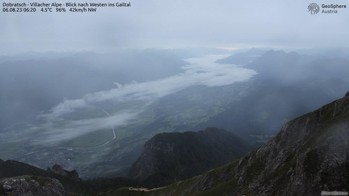 Webcam Dobratsch - Villacher Alpe