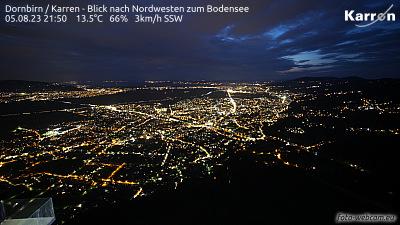 Dornbirn Karren (Blick nach Nordwest zum Bodensee)