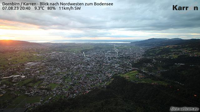 Karren (Blick nach Nordwest zum Bodensee)