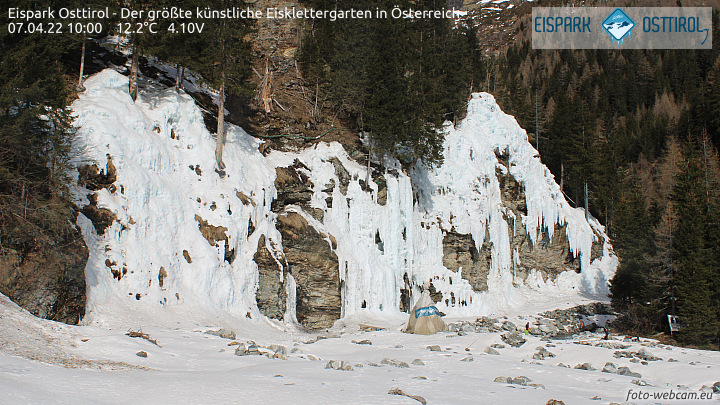 Webcam Eispark Osttirol