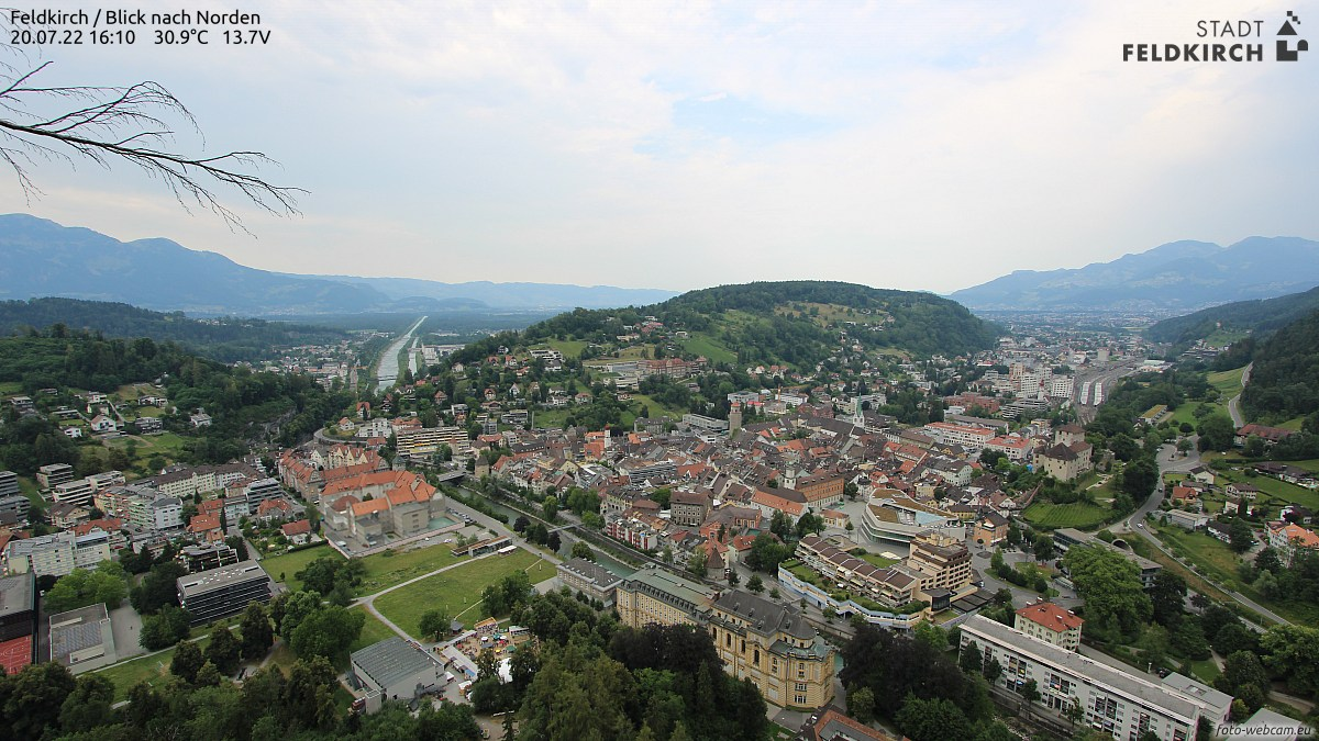 Feldkirch Blick nach Norden