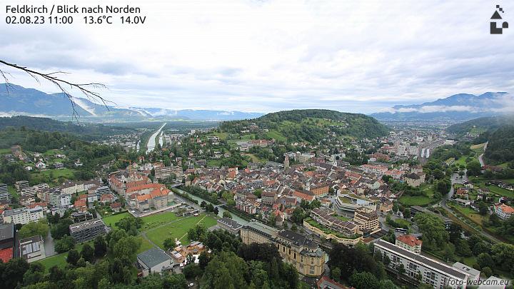 Webcam mit Blick auf die Altstadt